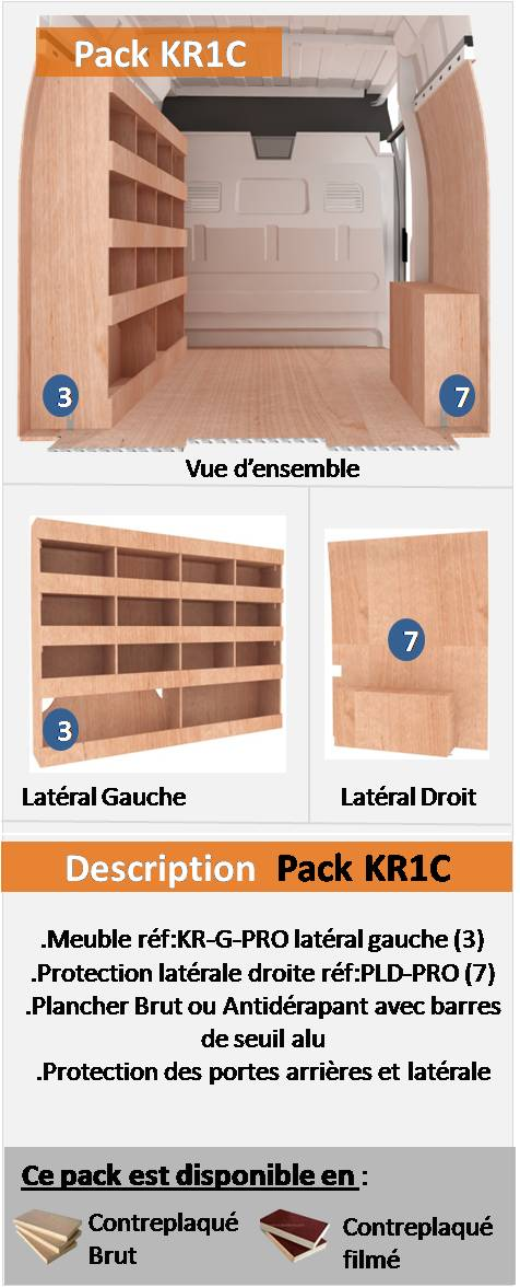 PACK KR1C FOURGON COMPACT L2H1