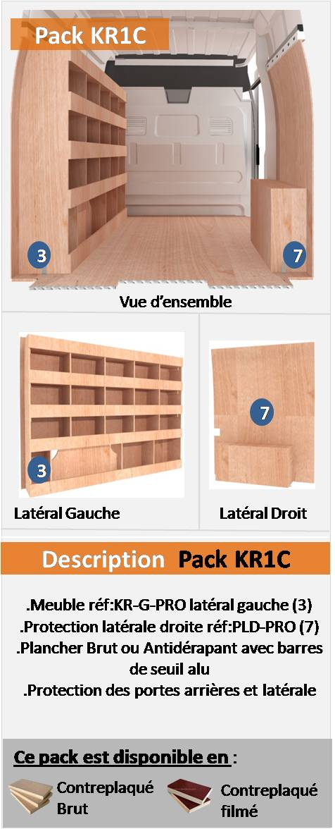 PACK KR1C FOURGON COMPACT L2H2