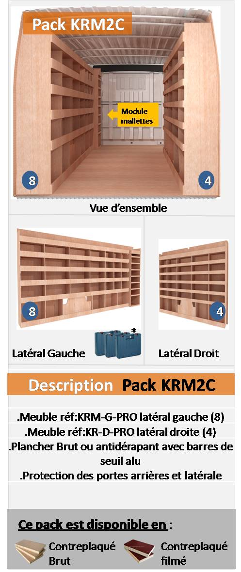 PACK KRM2C FOURGON L5H3