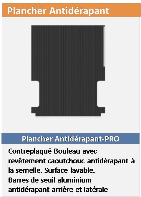 Plancher Antidérapant Fourgon L4H2