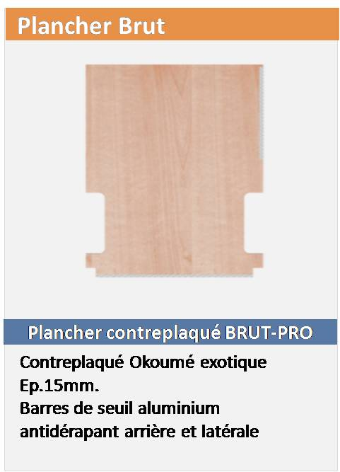 Plancher Brut Fourgon L2H3